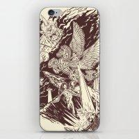 A Geek Legend iPhone & iPod Skin