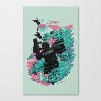 Wolf gang Canvas Print