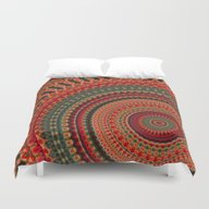Duvet Cover featuring Mandala 133 by Patterns Of Life
