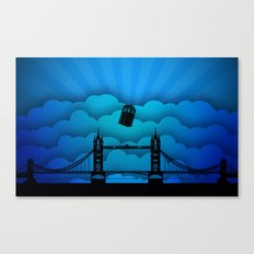 Tardis London Bridge Canvas Print