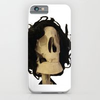 skeleton iPhone & iPod Cases featuring skeleton by Francesco Mestria