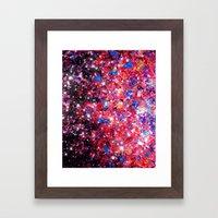 WRAPPED IN STARLIGHT Bol… Framed Art Print