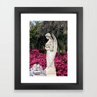 Sad Azalea  Framed Art Print