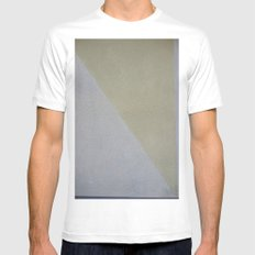 Yucko  SMALL White Mens Fitted Tee