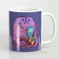 A boy and his Grogg Mug