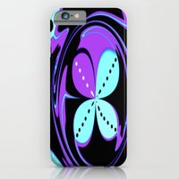 iPhone & iPod Case featuring Pattern Two (Inverted) by R.A.Carter