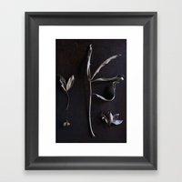 Portrait of Autumn II Framed Art Print