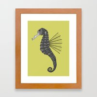 Sea Horse Framed Art Print