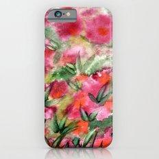Flowers in the corner Slim Case iPhone 6s