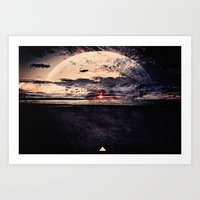 Space & Time Art Print