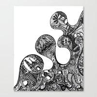 The Desi Canvas Print
