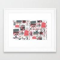 Bohemian Christmas Framed Art Print