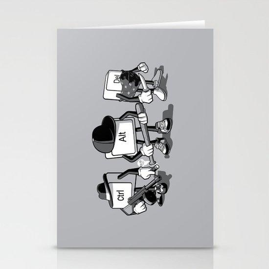 Computer Mafia Stationery Card