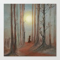 Track 7: The Wizard Canvas Print