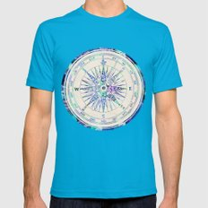 Follow Your Own Path Mens Fitted Tee Teal SMALL