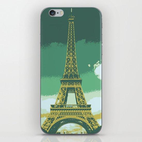 Eiffel Tower Paris Pop Art iPhone & iPod Skin