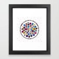 Mystic Flower Framed Art Print