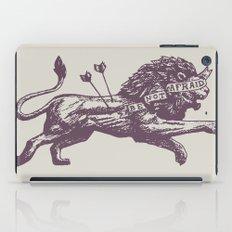 Be Not Afraid iPad Case