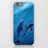 2 dolphins iPhone 6 Slim Case