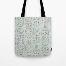 Mitty Mystics in Green Tote Bag