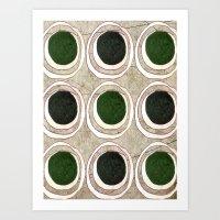 Green Eggs Art Print