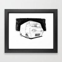 Econoline Framed Art Print