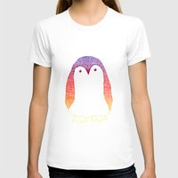 penguin T-shirts featuring Penguin by Alexandra Duma D.