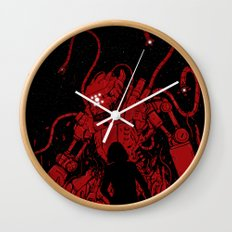 Surprise Attack Wall Clock