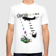 LSD Acid Mens Fitted Tee White SMALL