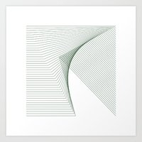 #266 Fault – Geometry Daily Art Print