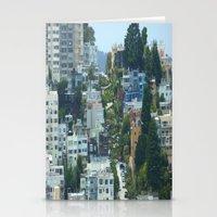 Lombard Street, San Fran… Stationery Cards