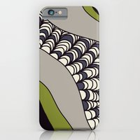 iPhone & iPod Case featuring Green Rolled by emain