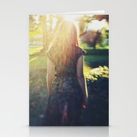 Sunlit Dreams Stationery Cards