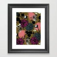 Flower Bomb Framed Art Print