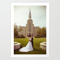 Oliver and Soye - Temple Art Print