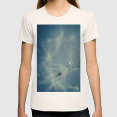 Dreaming Womens Fitted Tee Natural SMALL