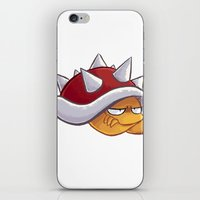 Spiny iPhone & iPod Skin