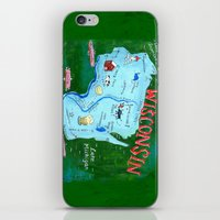 WISCONSIN iPhone & iPod Skin