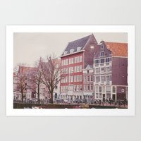 Amsterdam Love Art Print