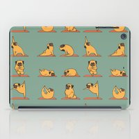 Pug Yoga iPad Case