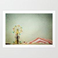 Summer Fair Art Print