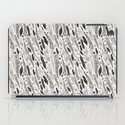 abstract pattern of feathers iPad Case