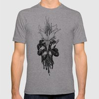 To Blosom Mens Fitted Tee Athletic Grey SMALL