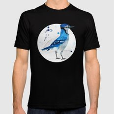 Blue Jay Mens Fitted Tee Black SMALL