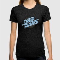 Ojayo Players Logo 1 Womens Fitted Tee Tri-Black SMALL