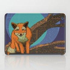 Fox at night iPad Case