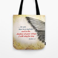 The Shadow of Your Wings Tote Bag
