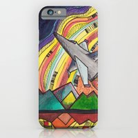 iPhone & iPod Case featuring The Sky is the Limit by AKABETSY
