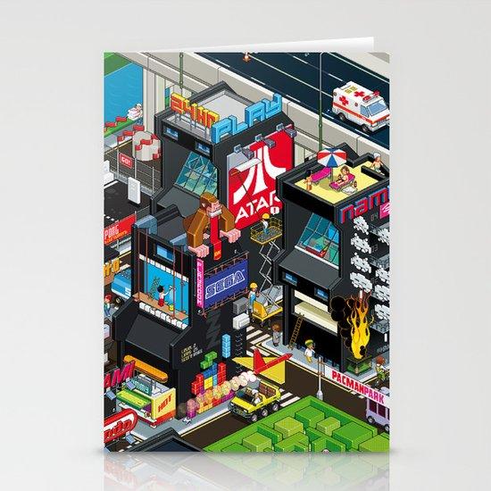 GAMECITY Stationery Card