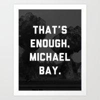 Bayhem  Art Print